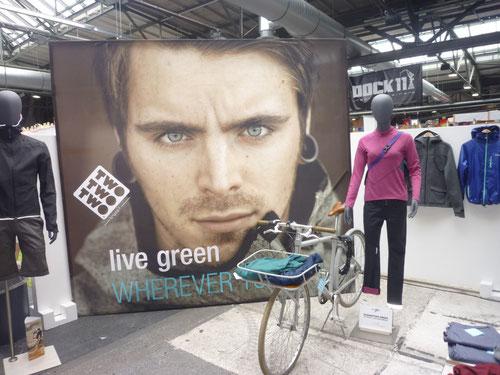 TRIPLE2 - live green auf der Fahrradschau Berlin (22./23.03.2014)