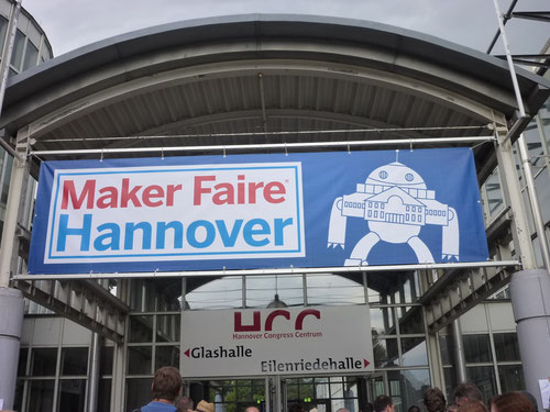 1. Maker Faire in Deutschland. Copyright: Thomas Matla