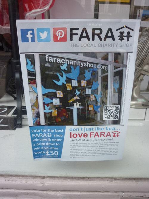 FARA Charity Shop und Social Media-Promotion. Copyright: Thomas Matla