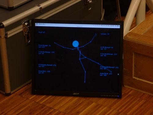 Computerdarstellung: Bewegungserkennung