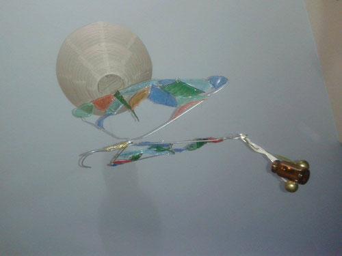 farfalla 1, installazione XVII-VIXI