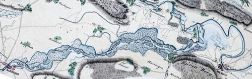 Der gefährliche Lauf der Aare zwischen Aarberg und Büren