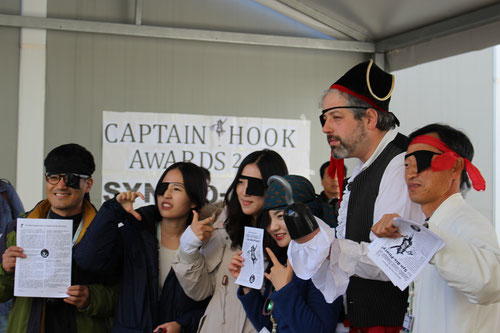 Verleihung des Captain Hook Awards zur Biopiraterie