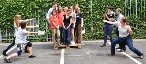 Projektteam beim Auftakttreffen Juni 2015