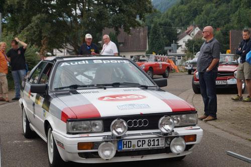Mike und Rüdiger am Start der GP 1(Foto: Schwalié)