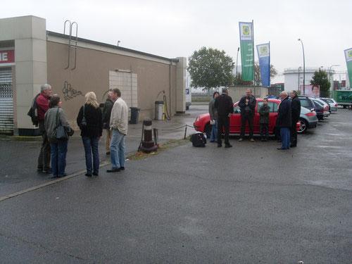 Treffpunkt ESSO-Tankstelle Rainer Samstag