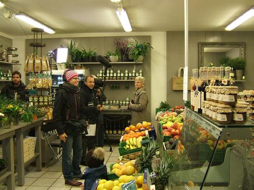 März 2013: Das Bayerische Fernsehen besucht Gemüsebau Knogler