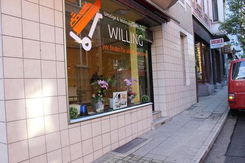 Büro Umzugsunternehmen Willing Umzüge & haushaltsauflösung Essen Paßstrasse 35