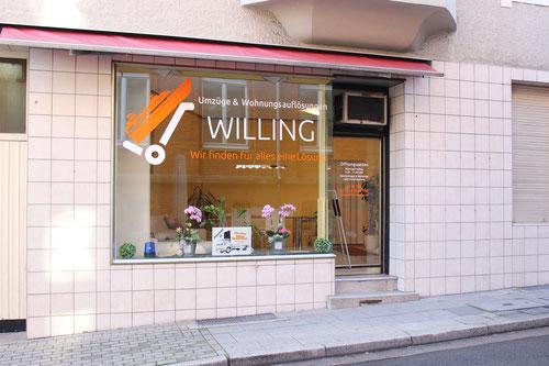 Büro Umzugsunternehmen Willing Umzüge & Haushaltsauflösung Essen
