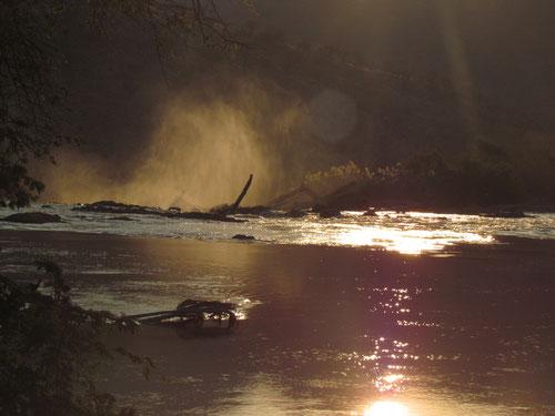 Sonnenuntergang an den Epupa Falls