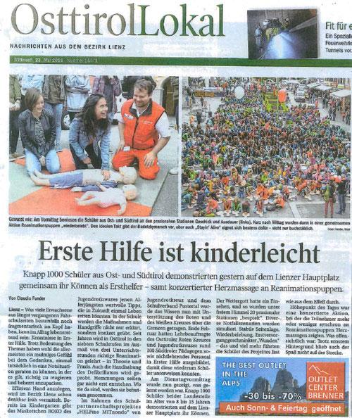 Bericht TT OsttirolLokal 25.05.2016