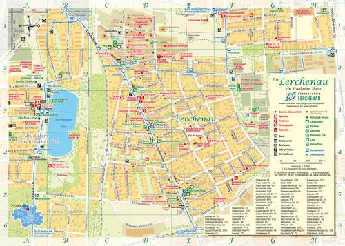 Stadtplan Lerchenau