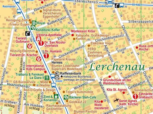 Detail Stadtplan