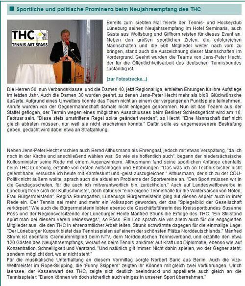 Bericht von www.lueneburg24.de