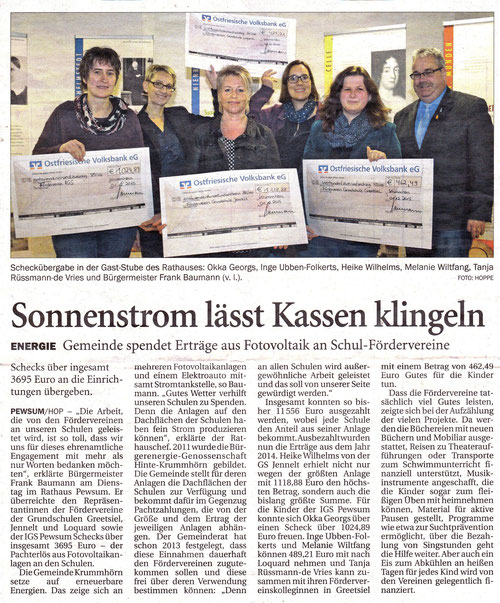 Emder Zeitung 03.12.2015