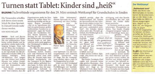 Ostfriesenzeitung 21.3.2017