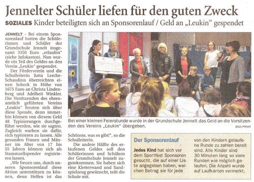 Ostfriesenzeitung 24.11.2017
