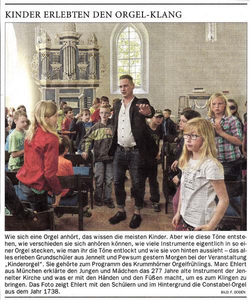 Ostfriesen-Zeitung 06.06.2015