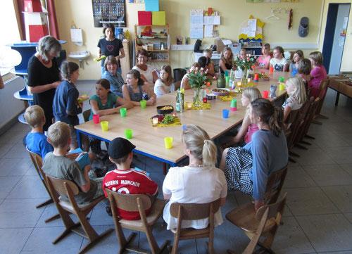 Sommerabschlussfest in der Bücherei am 23. Juli 2014