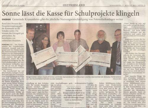 Ostfriesischer Kurier 17.08.2013