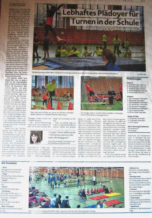 Emder Zeitung 30. 3. 2017