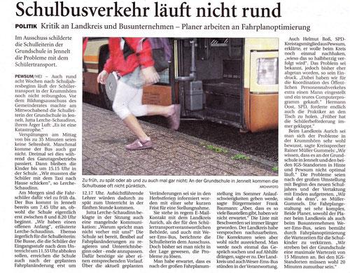 Emder Zeitung 30.10.2015