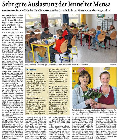 Ostfriesenzeitung 16.3.2017