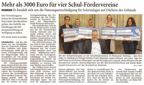 Ostfriesenzeitung 16.12.2017
