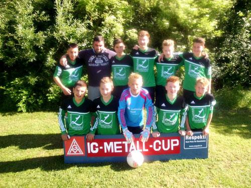 1. C-Jugend, Team 1 beim Turnier in Tönning 2014