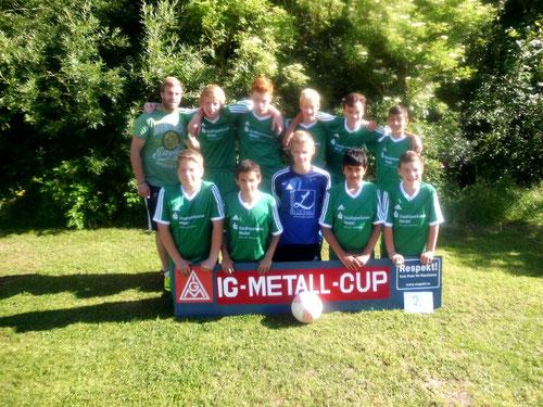 1. C-Jugend, Team 2 beim Turnier in Tönning 2014