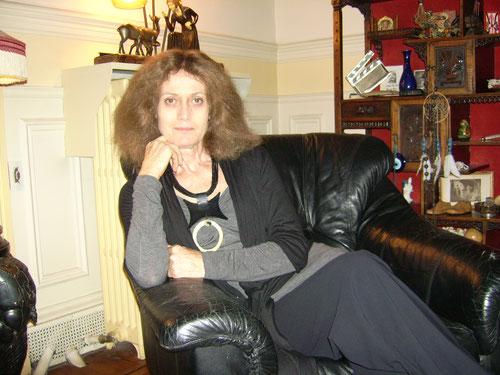 NOëlle Châtelet lors de notre entretien - Ph. M.A.