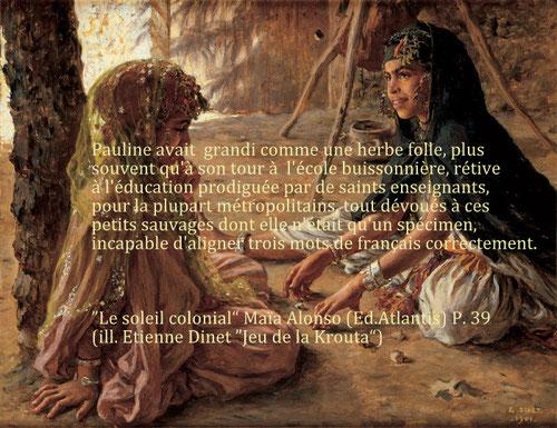 Jeu de la Krouta, Etienne Dinet