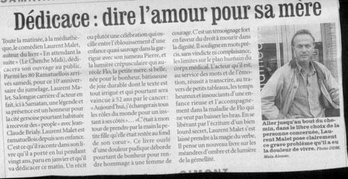 article La Dépêche M.A.