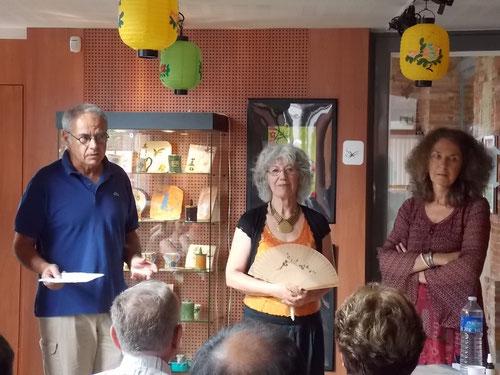 JP Laffontan, Maïa et Hélène Silbermann