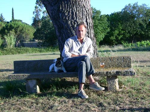 Laurent Malet, mai 2007, ph M.A. (clic pour suivre le lien du site de LM)