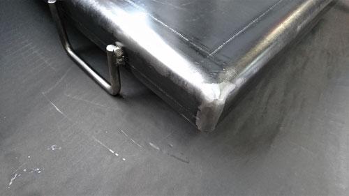 オーダー鉄板、BBQ鉄板、四方曲げ、四方溶接、6㎜、9㎜、鉄板、重い、オサエちゃん、オーダーメイド、注文鉄板