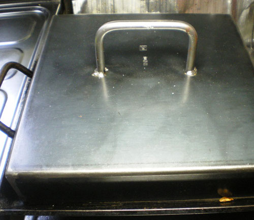 鉄板,カボチャ,アツアツ,スイーツ,BBQ,料理