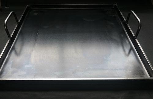 オーダー鉄板,業務用鉄板,ジャストサイズ,手作り,溶接,ぴったりの鉄板,昭和屋工業,アツアツ鉄板,6㎜,オサエちゃん