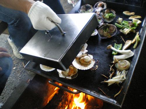 BBQ,BBQ鉄板,フタ,ふた,オーダーメイド,キャンプ,アウトドア,料理,極厚鉄板