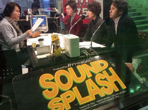 2014/03/07 FM-NIIFATA【SOUND SPLASH】