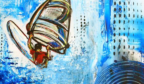 Gemälde Kunst wellenreiter surfer bilder kaufen gemälde malerei burgstaller