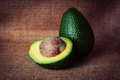 Avocado-Maske bei trockener Haut