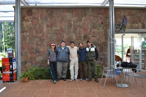 Con Beto, Mauri y Adelqui