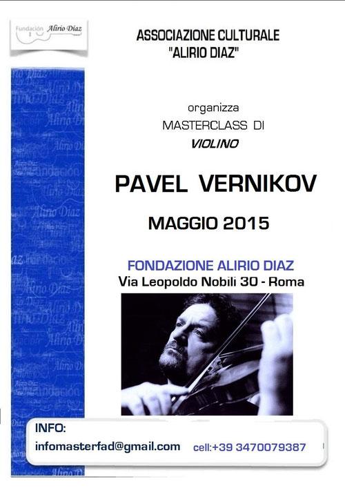pavel vernikov masterclass in Rome