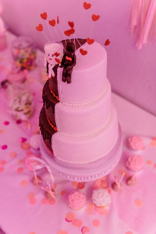Hochzeitstorte - Hochzeitsfotograf