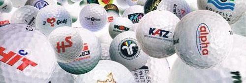 Golfbälle bedrucken Golfball