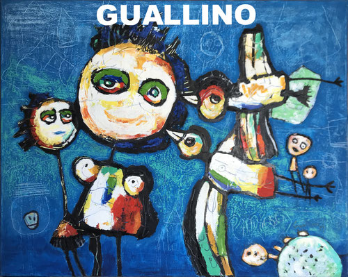 Peinture Guallino artiste peintre