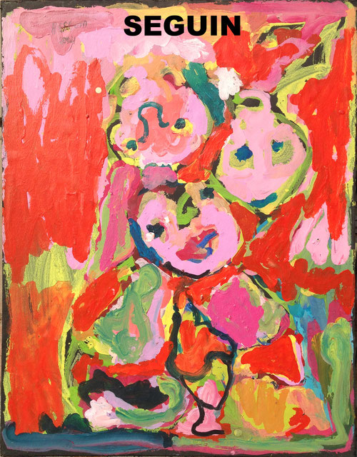 Peinture Adrien Seguin artiste peintre