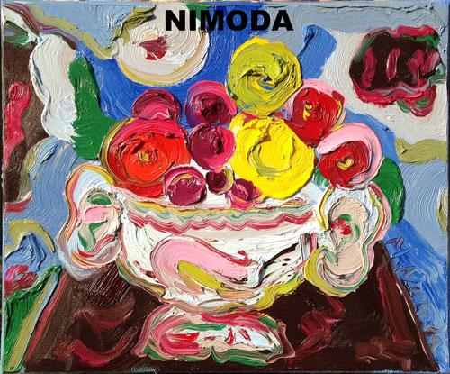 Peinture Mark Nimoda artiste peintre