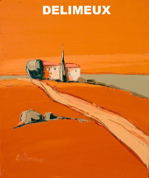 Peinture Delimeux